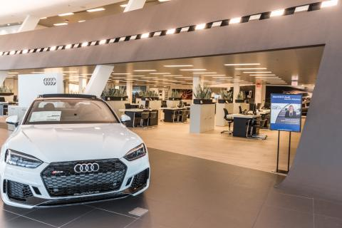 Audi North Atlanta Showroom